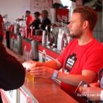 Vrijwilligers Bospop biertje