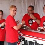 Vrijwilligers Bospop 2015 bar