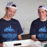 Vrijwilligers Bospop kassa