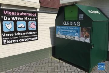 Kleding container Hoofstraat Nederweert 5704