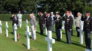 bezoek begraafplaats Henri Chapelle
