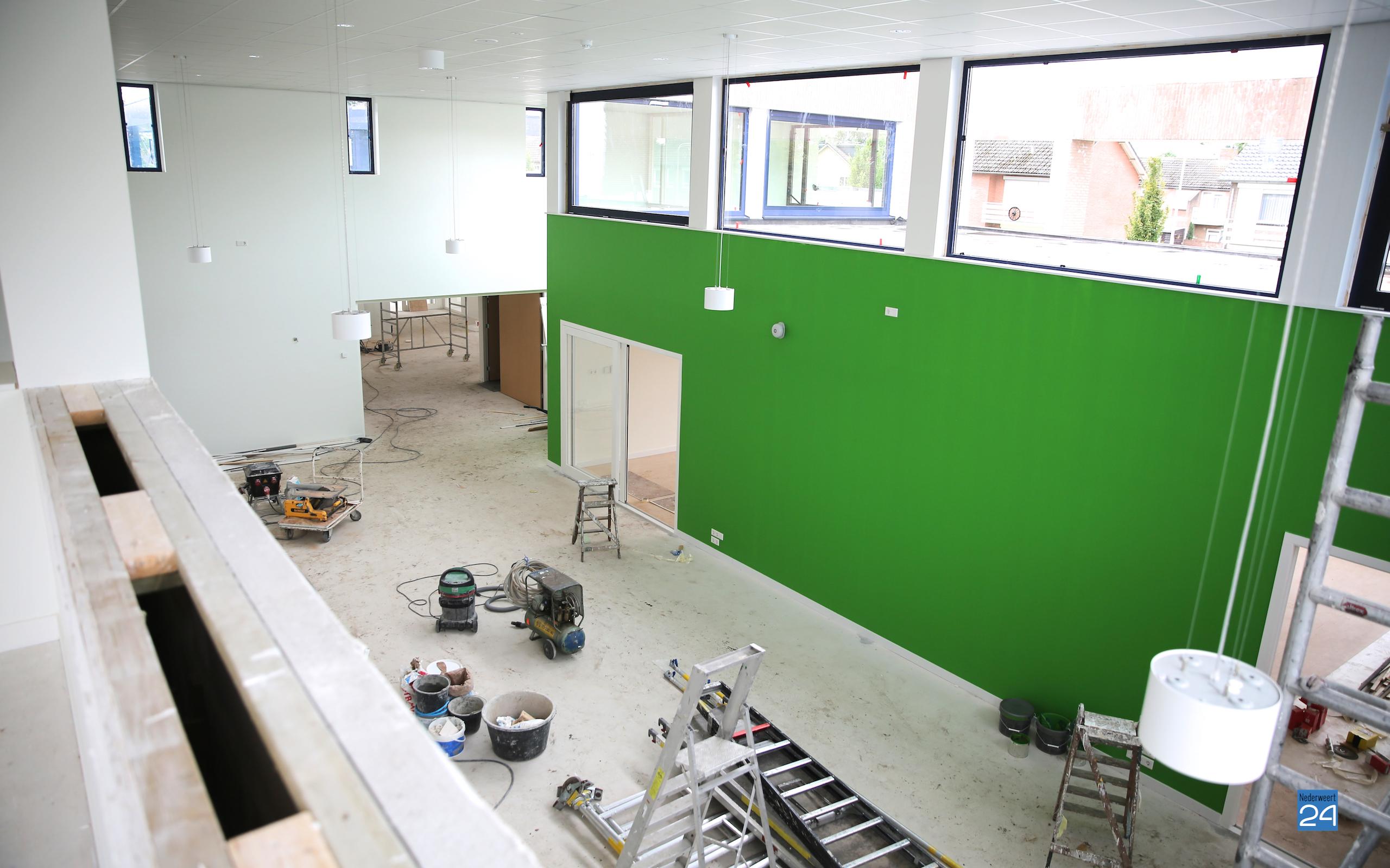 Opening basisschool De Schrank uitgesteld (Foto\'s) - Nederweert24