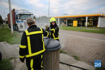 Brandje tankstation Ellerbrug A2 Grathem 5947