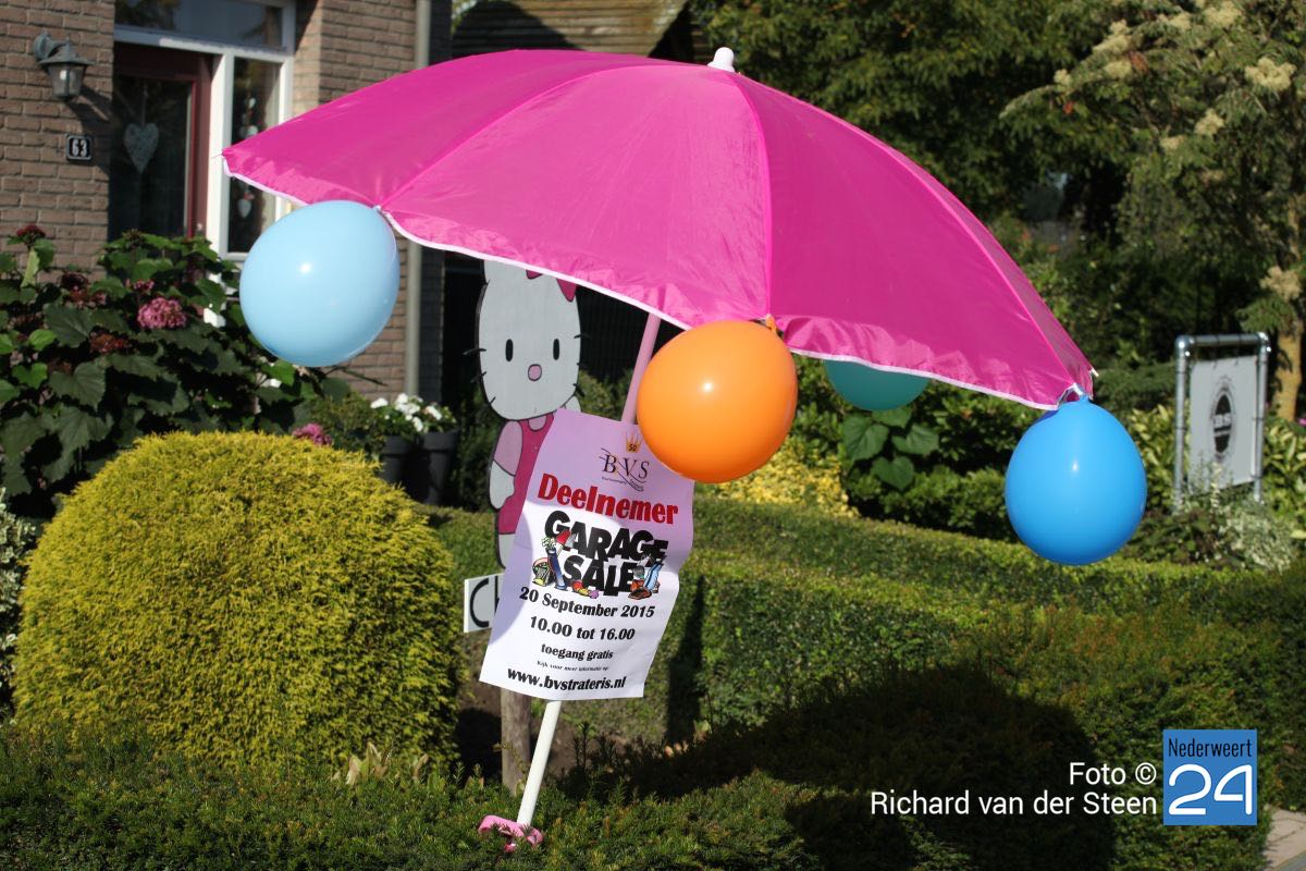 Grote Garage Sale buurtvereniging Strateris - Nederweert24 (Blog)