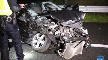 Flinke ravage op A2 na ongeval met drie auto's