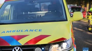 Zwaar gewonde na verkeersconflict in Nederweert