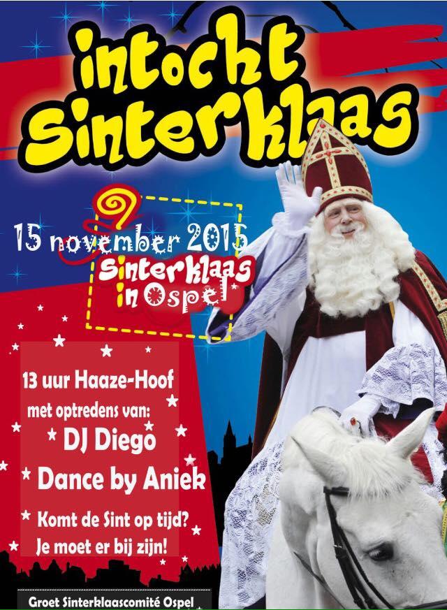Intocht Sinterklaas Ospel Nederweert24