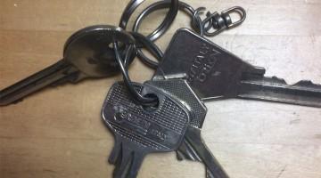 GEVONDEN: sleutels