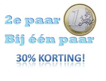 2e paar 1 euro