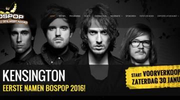 Kensington en Kovacs op Bospop 2016