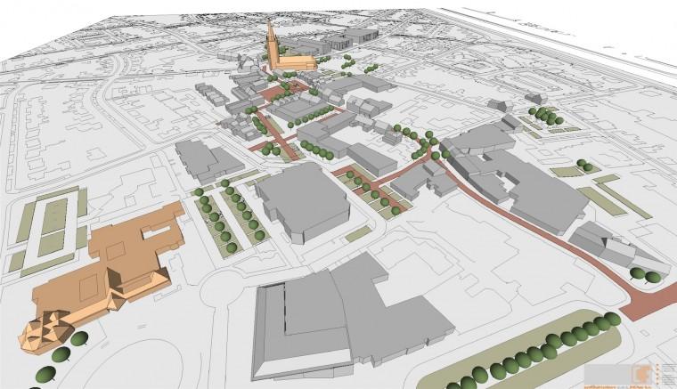 Bachalor plan centrum NEderweert