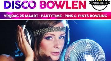 Disco Bowlen bij Pins & Pints Bowling