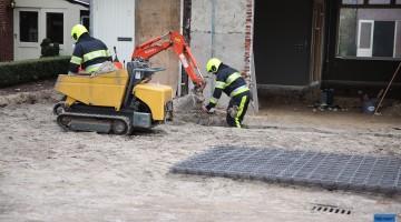 Gasleiding geraakt bij werkzaamheden in Meijel