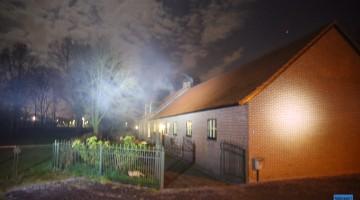 Brandweer rukt uit voor schoorsteenbrand in Weert