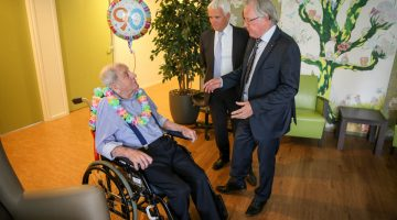 Felicitaties voor de 90-jarige Jac Coumans
