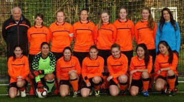 Damesvoetbal bij SV Laar