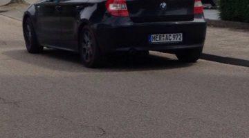 Politie zoekt zwarte BMW 1-serie