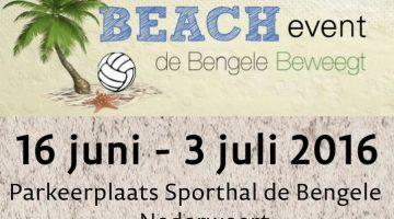 Bengele Beweegt Beach Event 2016
