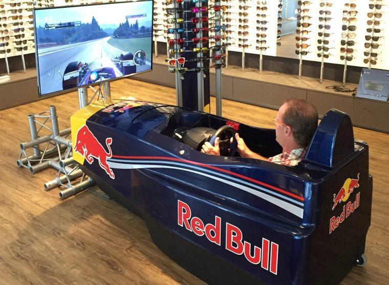 Red Bull Racing simulator in Nederweert