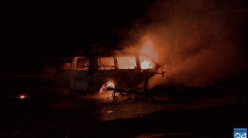 Vier voertuigen uitgebrand in Heibloem