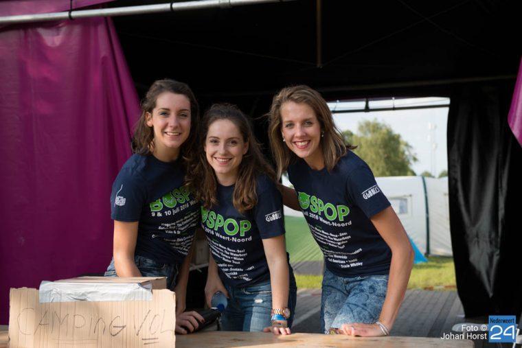 Bospop vrijwilligers