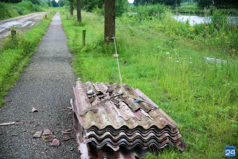 dumping Asbest kanaal Wessem-nederweert-2