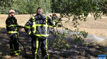 Brandje in Nederweert-Eind