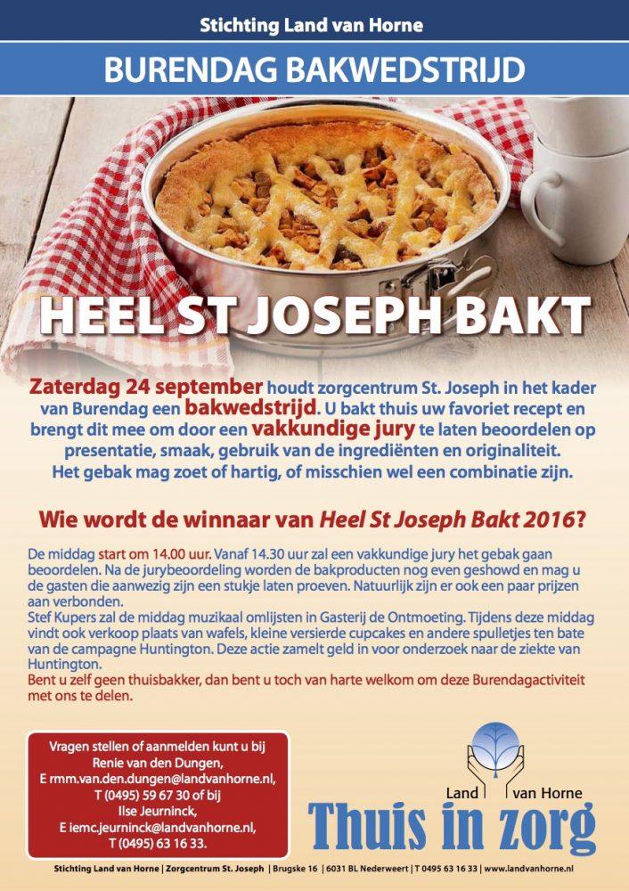 Heel St Joseph bakt