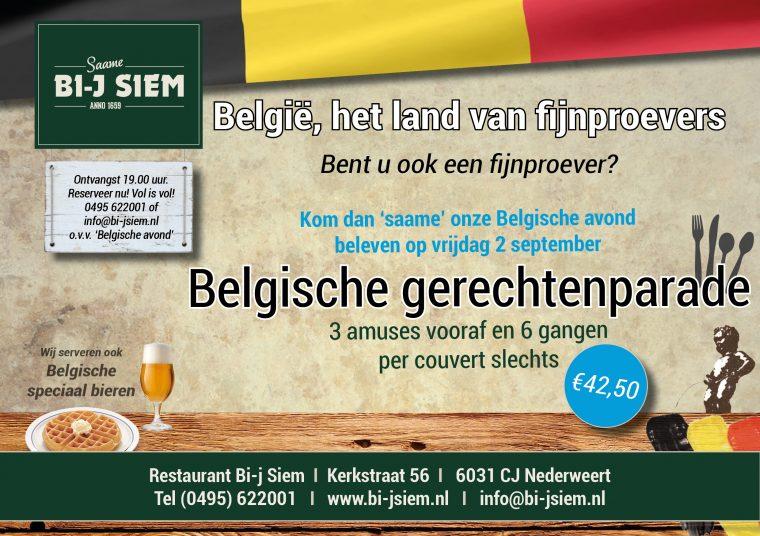 belgische avond