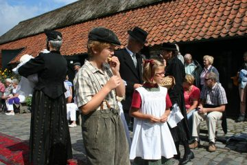 historische modeshow in Eynderhoof 3