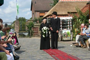historische modeshow in Eynderhoof