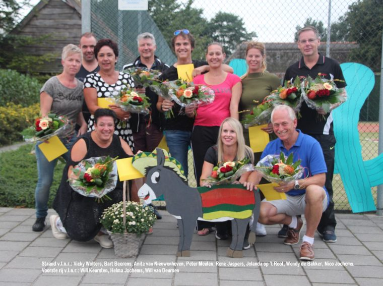 Tennistoernooi Eyndervelddubbel 2016