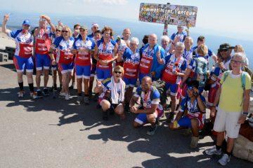 Toons Toppers beklommen Mont Ventoux 2