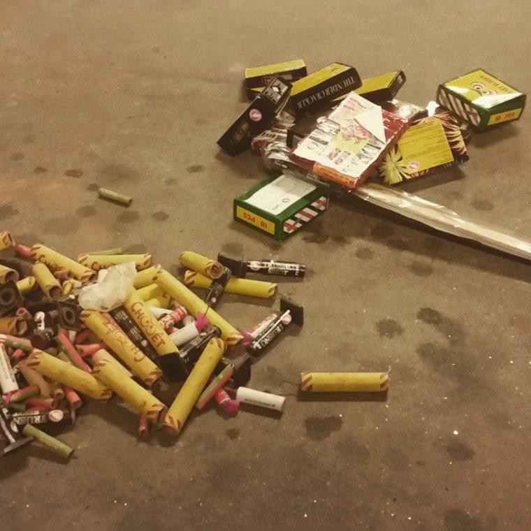 illegaal vuurwerk politie Nederweert