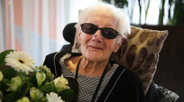 Margreta Selder-Winkelmolen viert 100e verjaardag
