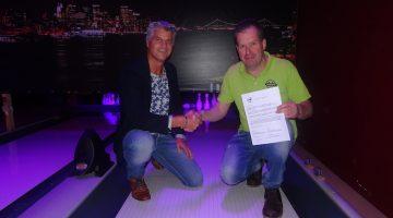 Pins & Pints Bowling nieuwe sponsor Z.V.V. 't Brökske 8
