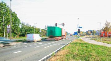 Groen stoplicht voor Randweg Zuid in Nederweert