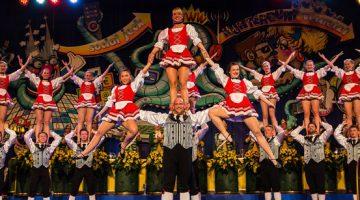 Spectaculaire dansgroep uit Köln op Oktoberfeesten Ospel
