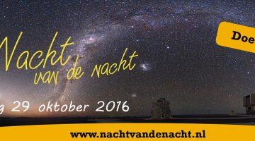 Nacht van de nachtwandeling met dichteres Angela Mol