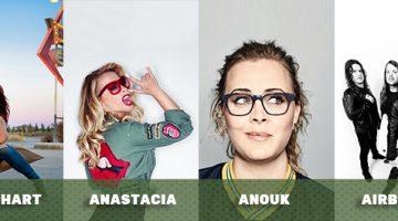 Eerste namen Bospop 2017: Beth Hart, Anastacia, Anouk en Airbourne