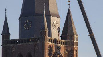 Kerktoren Nederweert krijgt vervroegd onderhoud