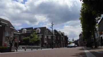 Nieuwe verkeerssituatie in centrum Nederweert