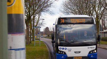 Arriva verbetert busdienstregeling