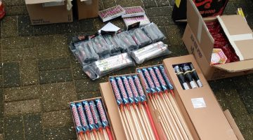 Illegaal vuurwerk aangetroffen in Weert en Leudal