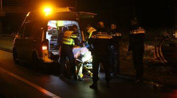 Politie achtervolging eindigt in Boshoven