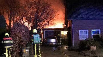 Zeer grote brand in Leveroy/Heythuysen