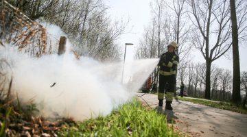 Buitenbrandjes door droogte
