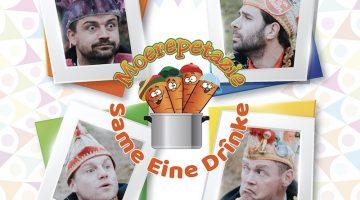 Moerepetazie lanceert eerste album 'Same Eine Drînke'