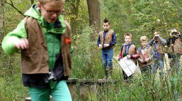 Vier je kinderfeestje in De Groote Peel
