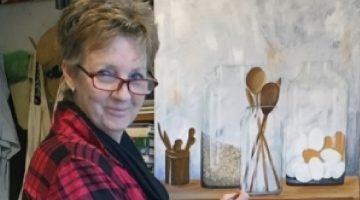 Francien van Hugten exposeert op Kunstmuur